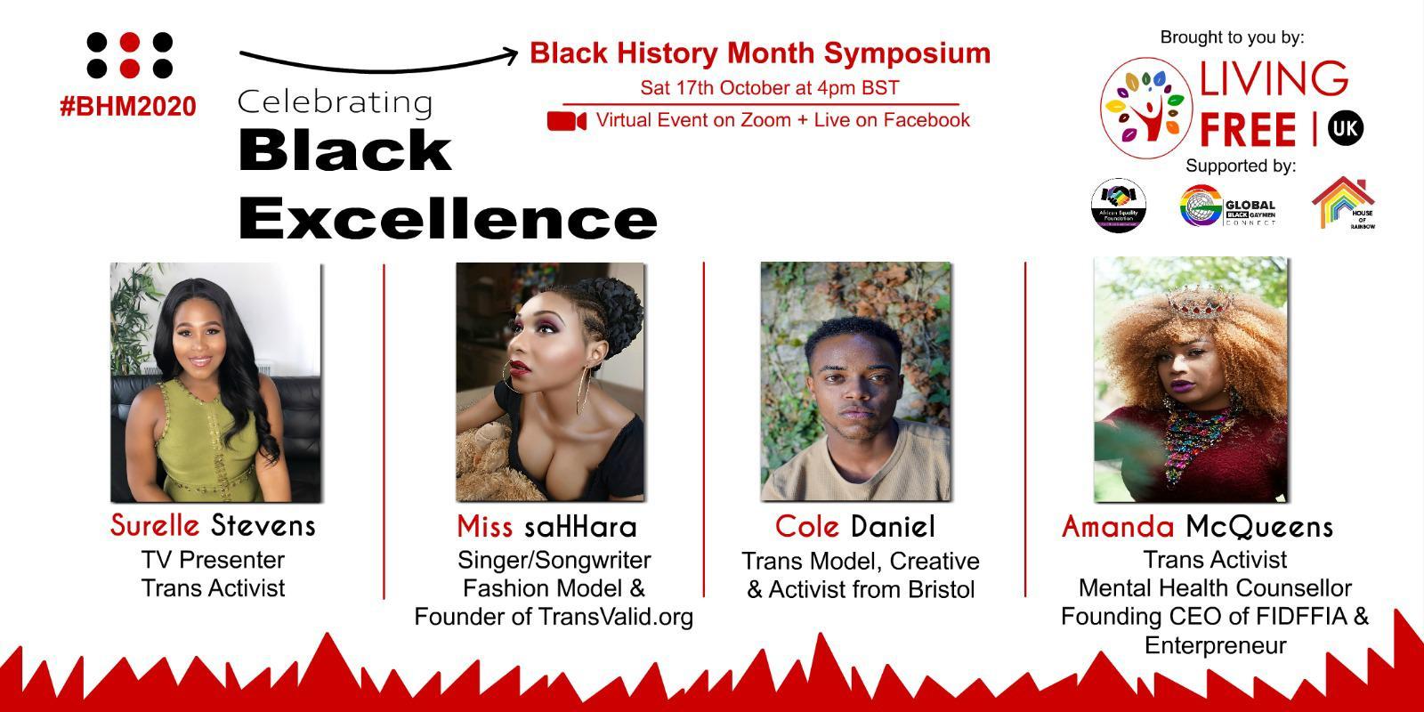 Celebrating Black Trans Excellence: BHM Virtual Symposium.