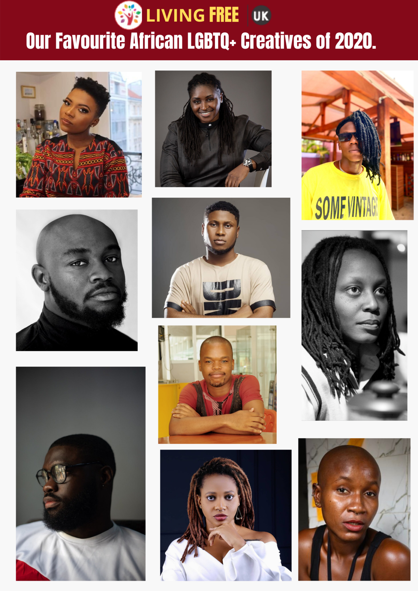 Our Favourite African LGBTQ+ Creatives of 2020.